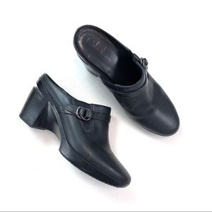 Cole Haan Buckle Mules Clogs